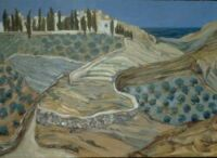 Greek Landscape (1998) Oil on canvas